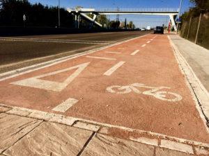 Final Carril bici N-1 cerca de La Granjilla Ciudadanos San Sebastián de los Reyes Martín Perdiguero
