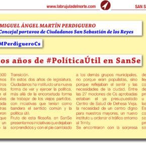 Dos años de #PolíticaÚtil en SanSe