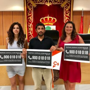 Cs San Sebastián de los Reyes impulsa una Declaración Institucional para promover campañas municipales contra el acoso escolar