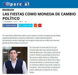 Fiestas moneda de cambio Nuevo Imparcial Ciudadanos San Sebastián de los reyes