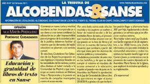 Tribuna de la Moraleja Ciudadadanos San Sebastian de los Reyes Martin Perdiguero Libros de texto gratuitos