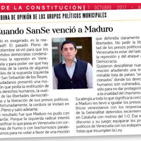 Cuando SanSe venció a Maduro
