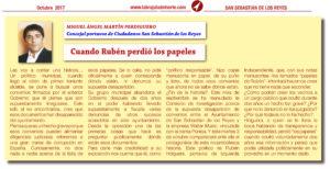 La Brujula del Norte Ciudadanos San Sebastian de los Reyes Waiter Music Rubén Holguera