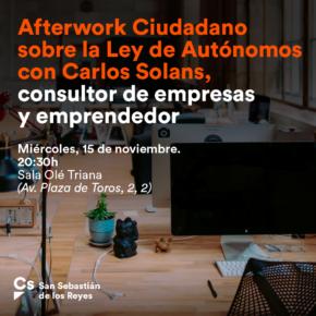 Afterwork Ciudadano sobre la Ley de Autónomos