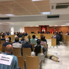 Cs SanSe muestra su descontento a la negativa del alcalde de celebrar un acto de reconocimiento público a las Fuerzas y Cuerpos de Seguridad del Estado