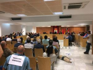 PSOE San Sebastián de los Reyes vota en contra acto público Fuerzas y Cuerpos de Seguridad del Estado
