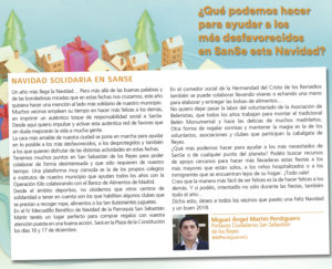 Navidad solidaria San Sebastián de los Reyes-Ciudadanos Miguel Ángel Martín Perdiguero