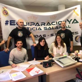 Ciudadanos (Cs) SanSe solicita el apoyo del Pleno para conseguir la equiparación salarial de policías y guardias civiles