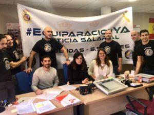 Firma ILP Jusapol Mocion Ciudadanos San Sebastián de los Reyes equiparación salarial