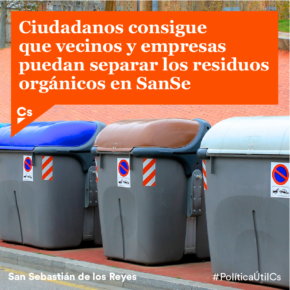 Reciclar residuos orgánicos, un reto posible en SanSe