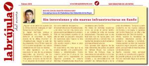 Inversiones en infraestructuras en San Sebastián de los Reyes Ciudadanos Martín Perdiguero