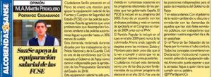 Tribuna Alcobendas San Sebastián de los Reyes equiparación salarial JUSAPOL Ciudadanos