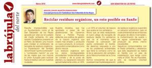 Contenedor residuos orgánicos Ciudadanos San Sebastián de los Reyes Miguel Ángel Martín Perdiguero