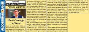 Marea Naranja Ciudadanos San Sebastián de los Reyes Miguel Ángel Martín Perdiguero