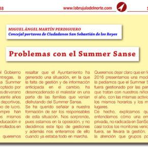 Problemas con el Summer Sanse