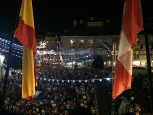 Día del pregón 2016, Plaza de la Constitución de San Sebastián de los Reyes