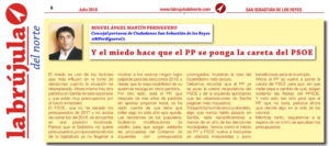La Brujula del Norte Ciudadanos San Sebastián de los Reyes Pacto PP PSOE Miguel Ángel Martín Perdiguero