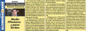 ciudadanos San Sebastián de los Reyes Miguel Ángel Martín Perdiguero Postureo taurino Partido Popular