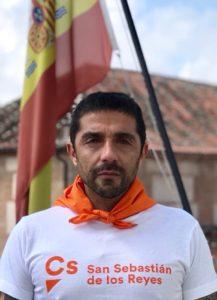 Miguel Angel Martin Perdiguero Ciudadanos San Sebastián de los Reyes Saluda Fiestas SanSe 2018