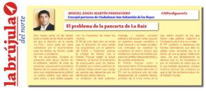 Ciudadanos San Sebastián de los Reyes Miguel Ángel Martín Perdiguero concierto La Raiz pancarta presos políticos