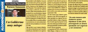 Presupuestos 2018 San Sebastián de los Reyes