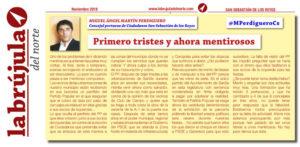 La Brujula Mentiras PP SanSe Miguel Angel Martin Perdiguero Ciudadanos San Sebastián de los Reyes