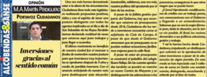Desbloqueo inversiones 2018 Ciudadanos San Sebastián de los Reyes Martín Perdiguero