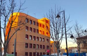Comedor Social Hermandad Cristo Remedios Edificio Ayuntamiento Ciudadanos San Sebastián de los Reyes