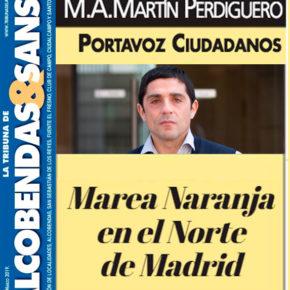 Marea naranja en el Norte de Madrid