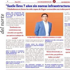 """""""SanSe lleva 7 años sin nuevas infraestructuras y sucio"""""""