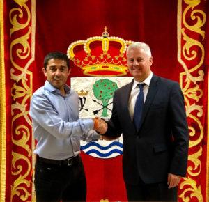 Firma acuerdo Ciudadanos San Sebastián de los Reyes PSOE Miguel Ángel Martín Perdiguero Vicealcalde Narciso Romero Alcalde