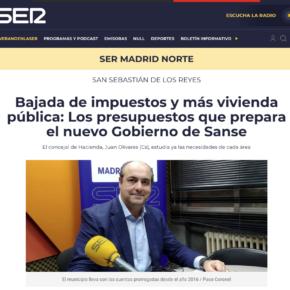 Bajada de impuestos y más vivienda pública: Los presupuestos que prepara el nuevo Gobierno de Sanse
