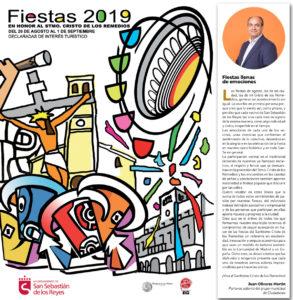 Fiestas San Sebastián de los Reyes 2019 Juan Olivares Ciudadanos