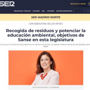Recogida de residuos y potenciar la educación ambiental, objetivos de Sanse en esta legislatura