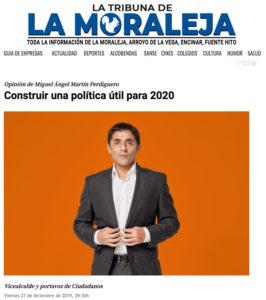 20191227 Vicealcalde Miguel Ángel Martín Perdiguero Ciudadanos San Sebastián de los Reyes año 2020.jpg