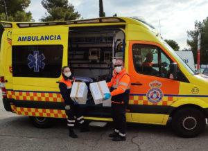 Protección Civil San Sebastián de los Reyes Ciudadanos Coronavirus