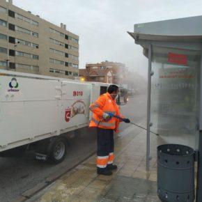 El Gobierno de San Sebastián de los Reyes activa un plan de desinfección de zonas urbanas críticas