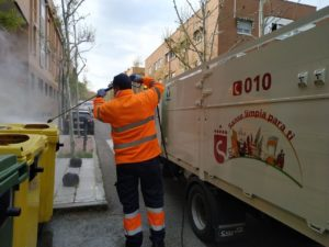 Ciudadanos San Sebastian de los Reyes desinfeccion coronavirus
