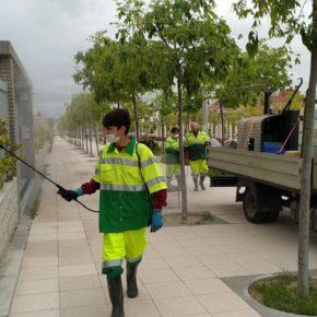 San Sebastián de los Reyes completa la desinfección de la ciudad tras un mes de limpieza intensiva para frenar la Covid-19