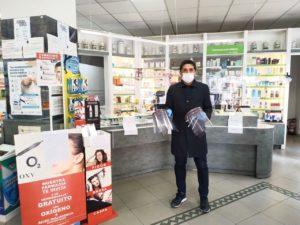 Desinfección farmacias comercios locales ozono san sebastián de los reyes Martin Perdiguero vicealcalde
