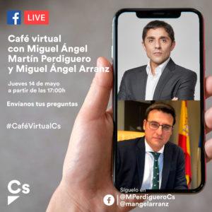 Café Virtual Ciudadanos san sebastián de los Reyes Alcobendas Perdiguero Arranz