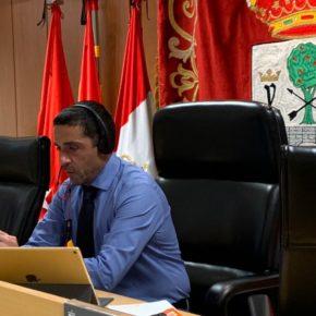Rueda de prensa telemática con motivo de la suspensión de las fiestas de agosto 2020