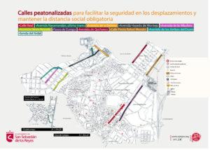 calles peatonalizadas covid 19 San Sebastián de los reyes