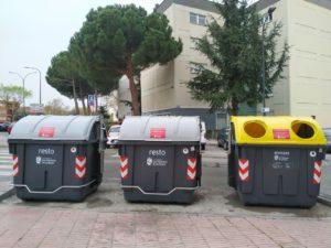 Contenedores reciclaje san sebastián de los reyes