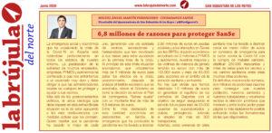 La Brujula Ciudadanos San Sebastián de los Reyes ayudas coronavirus Martin Perdiguero