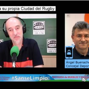 """Sanse será la """"Ciudad del Rugby"""" con un complejo deportivo municipal dedicado a este deporte"""