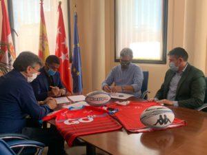 Convenio firma ciudad del rugby San Sebastian de los Reyes Ciudadanos