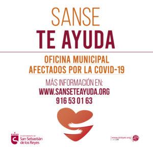 Sanse te ayuda san sebastian de los reyes ayudas covid-19 Coronavirus Ayuntamiento