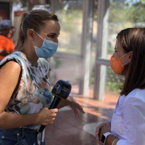 Desinfección de puntos críticos en San Sebastián de los Reyes