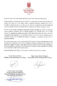 Inicio curso escolar San Sebastián de los Reyes Ciudadanos Carta DAT Norte